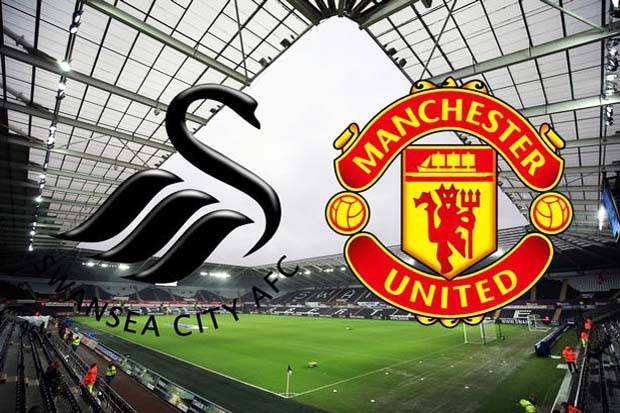 prediksi bola swansea vs manchester united