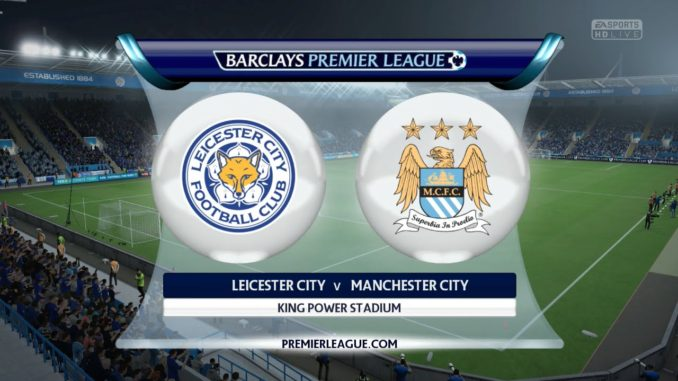 leicester vs man city