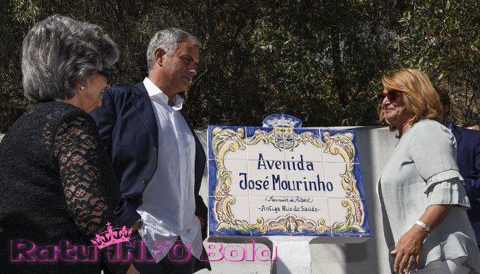 jose mourinho dijadikan nama jalan