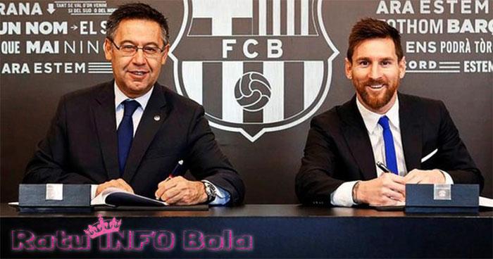 messi setia di barcelona