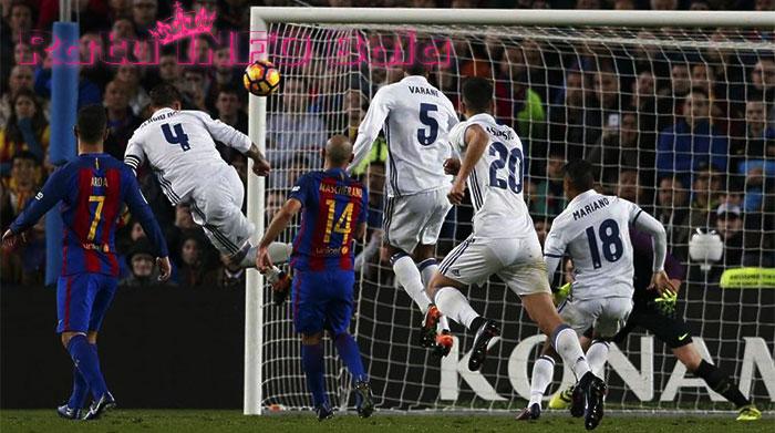 kalahkan barcelona kado natal madrid