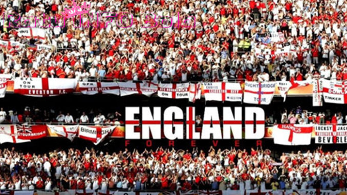Suporter Inggris