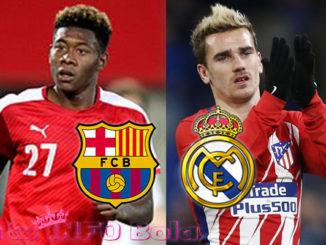 barcelona dan madrid