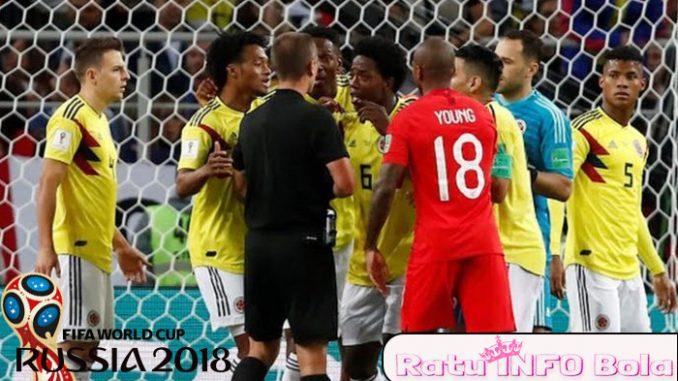Kolombia vs Inggris Diulang Piala Dunia 2018