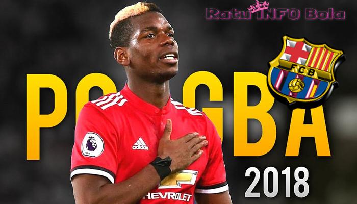 Barcelona mengincar Paul Pogba