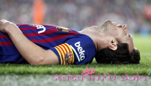 Cedera Lionel Messi