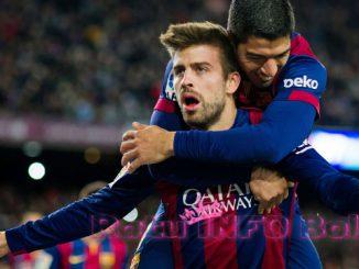 Gerard Pique Pemain Barcelona