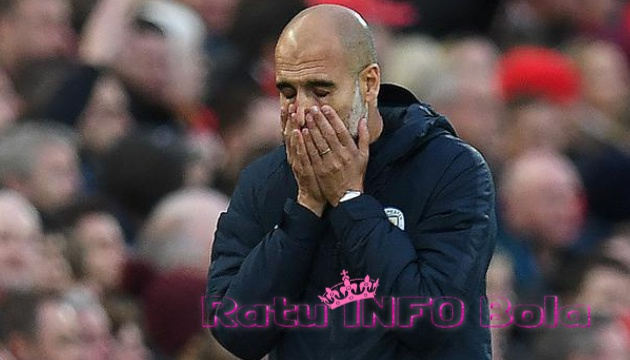 Josep Guardiola Bersedih