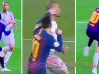 Messi Pukul Fabinho